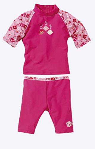 Beco Mädchen Schutzanzug UV Sealife, pink, 116